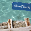 Ksamil beach travel video tv film director cameraman